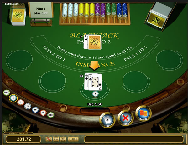 Play BlackJack - Smooth Software