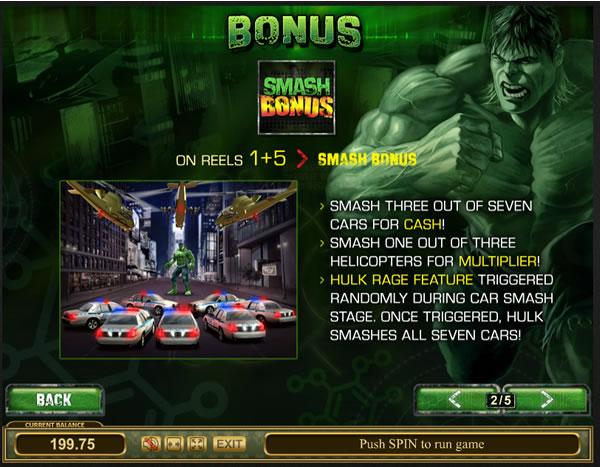 Hulk SMASH The Cop Cars For Bonus Money