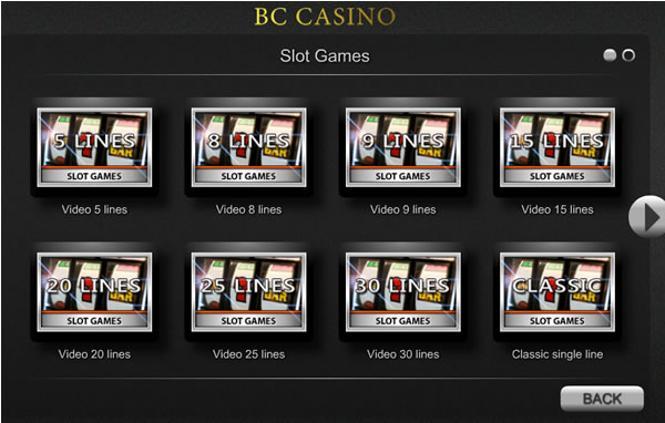Tons of Awesome Video Slot Machines