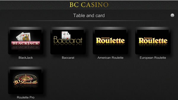 Play The Most Popular Casino Card & Table Games